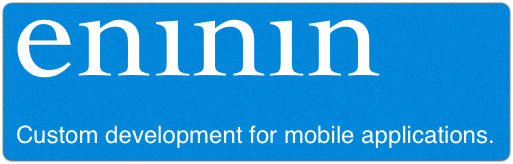 Eninin – Custom development for mobile applications.